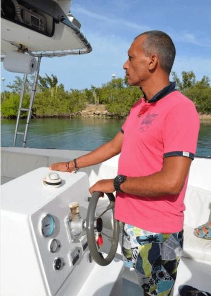 Kapitein op de Red Snapper